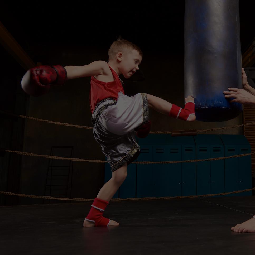 [画像]ジュニアキックボクシング