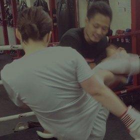 [画像]レディースキックボクシング